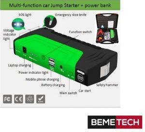 Jump Starter High power 12V TM-10E
